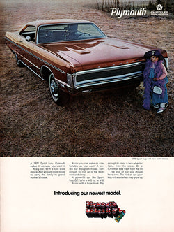 1969 Chrysler Plymouth Fury Car Ad