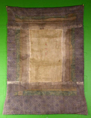 Antique Silk Tibetan Thangka
