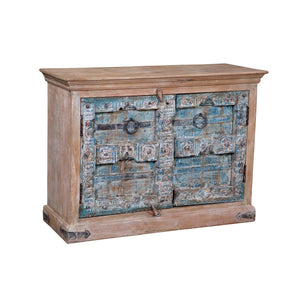 Indian cabinet made with antique doors
