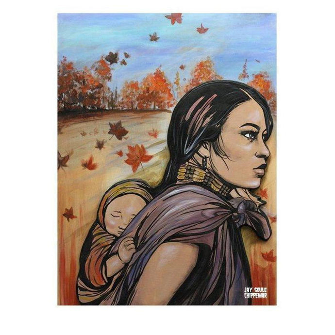 A Mothers Love-Chippewar-First-Nations-Artist