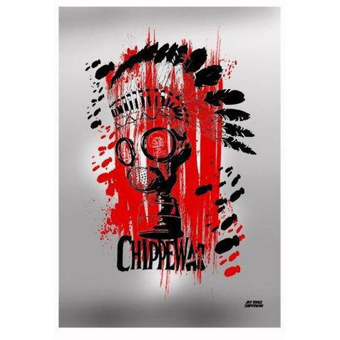 Death From Above Print-Chippewar-First-Nations-Artist