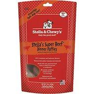 Stella & Chewy's Stella's Super Beef Dinner Patties Grain-Free Freeze-Dried Dog Food for All Ages (14oz - 25oz) - Qualifies for No Minimum Order +Ship Free in Yuba City