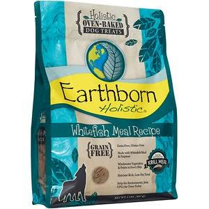 Earthborn Holistic Oven-Baked Grain Free Treats Whitefish Meal (14 oz - 2 lb)