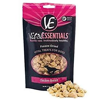 Vital Essentials Chicken Breast Freeze-Dried Treats 2.1oz