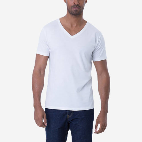 Pima - Open V Neck