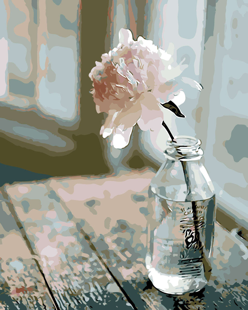 Lonely Rose - Paint by Numbers Kits for Adults DIY