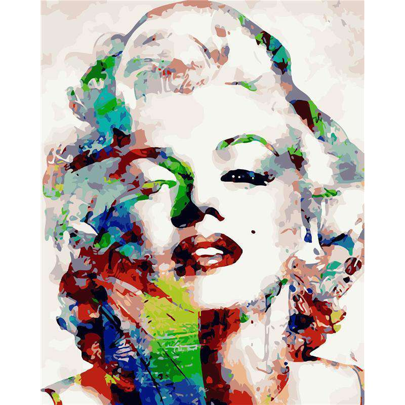 Marilyn Monroe - Paint by Numbers Kits for Adults DIY