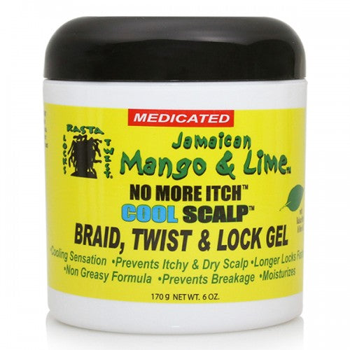 Jamaican Mango & Lime No More Itch Cool Scalp Gel (Medicated)