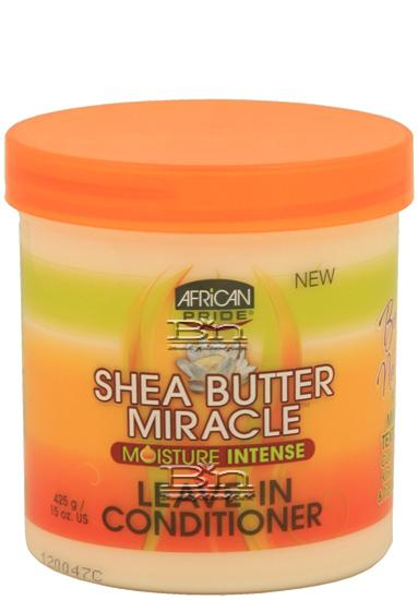 African Pride Shea Miracle Leave-In Conditioner