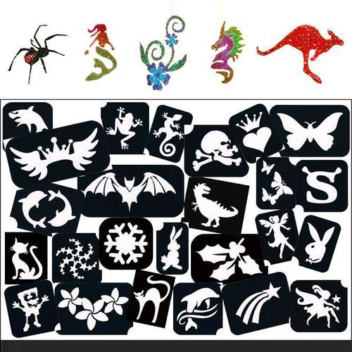 TAG Self Adhesive Tattoo Stencil Packs - Assorted (all themes)