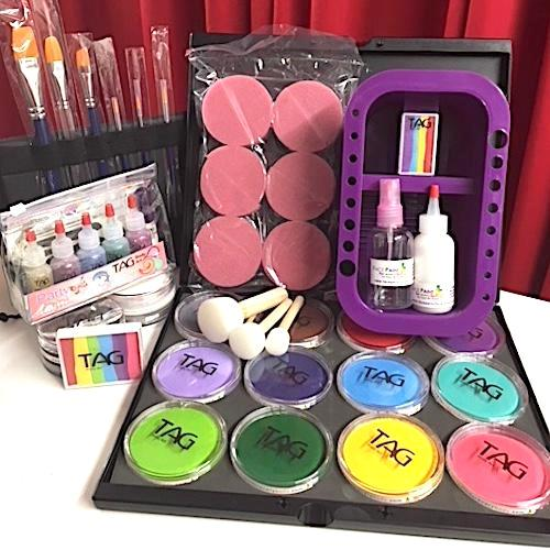 TAG Face Paint and Glitter Tattoo Kit