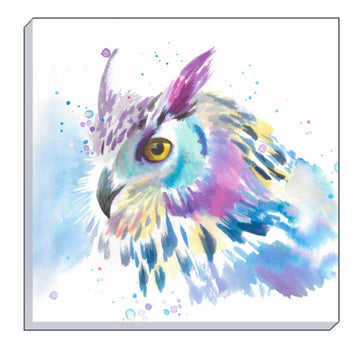 Artistic Animals Owl Canvas Wall Art