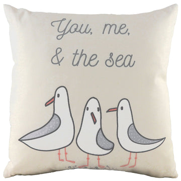 You Me Sea Natural Cushion