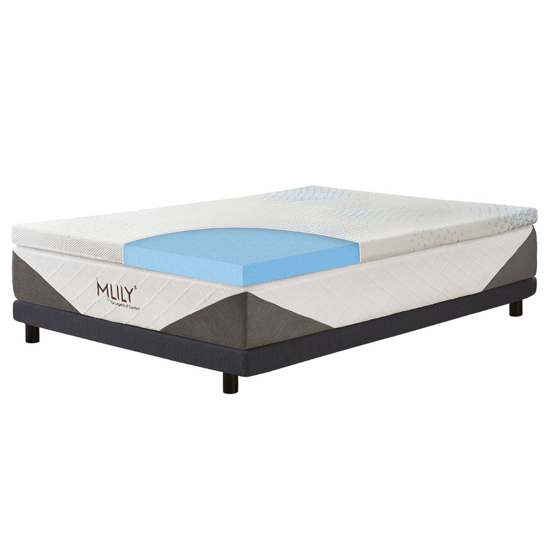 Mlily ENHANCEIPOLAR GEL FUSION MATTRESS TOPPER - 7.5cm