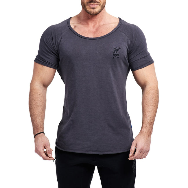 JustGym T-Shirt Long - asphalt