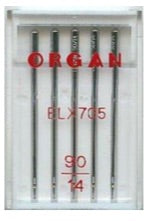 ORGAN Sewing Machine Needles EL x 705 Coverstitch Size 90 (14)