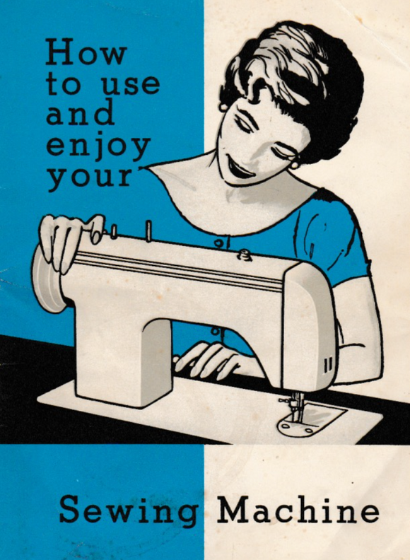 JONES BROTHER Model 881 Sewing Machine  Instruction Manual (Download)