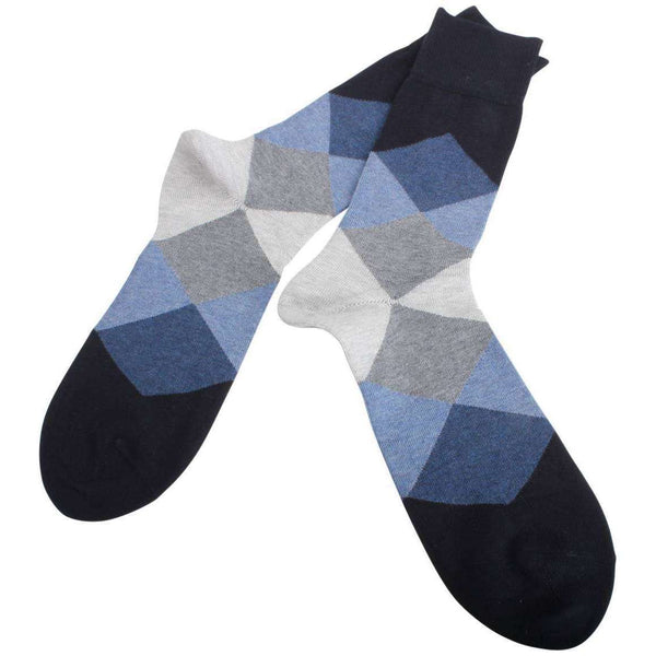 Burlington Navy Clyde Socks