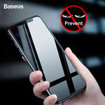 Baseus Privacy Protection Screen Protector For iPhone Xs Max XR Anti-peeping Protective Tempered Glass Film Cover For iPhoneXs