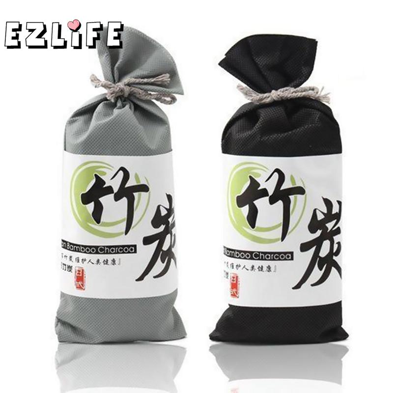 EZLIFE 100g Air Freshener For Car & Home Bamboo Charcoal Package Car Interior