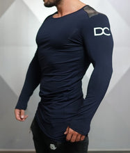 Body Engineers - DC – Enigma Long Sleeve - Navy Blue - Seitlich