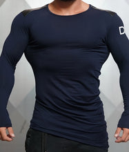 Body Engineers - DC – Enigma Long Sleeve - Navy Blue - Vorderseite