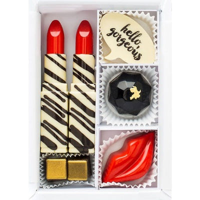 Mini Hello, Gorgeous! Milk Chocolates - Maggie Louise Confections
