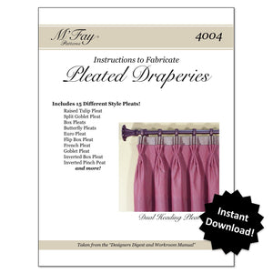 Pleated Draperies