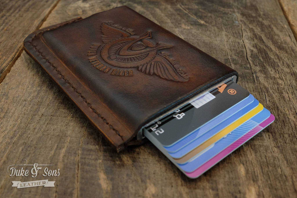 "Card wallet ""Dutch Veteran Biker"" (RFID protected)."