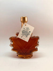 Decorative Glass Maple Leaf bottle