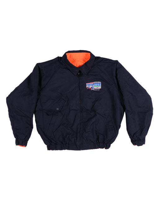 GX1000 Small Bus Jacket Reversible Black Orange