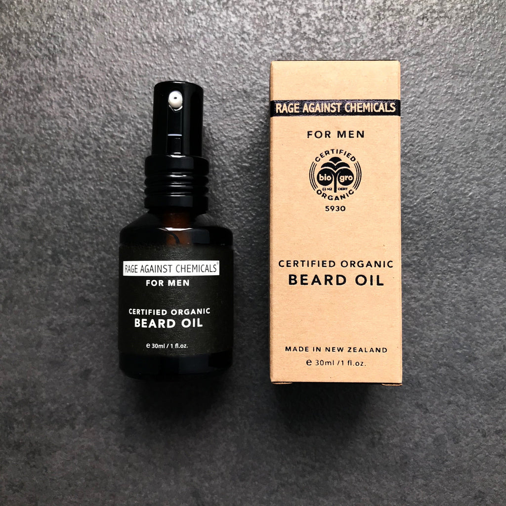 Beard Oil  - Certified Organic 30ml