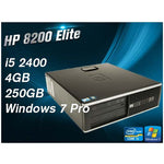 HP Compaq 8200 Elite SFF i5 4GB 250GB Desktop - Ex Lease Grade A