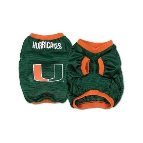Miami Hurricanes NCAA Dog Jersey 2-DOG-Pets First-X-SMALL-Pets Go Here ncaa, ncaa jersey, pets first, test Pets Go Here, petsgohere