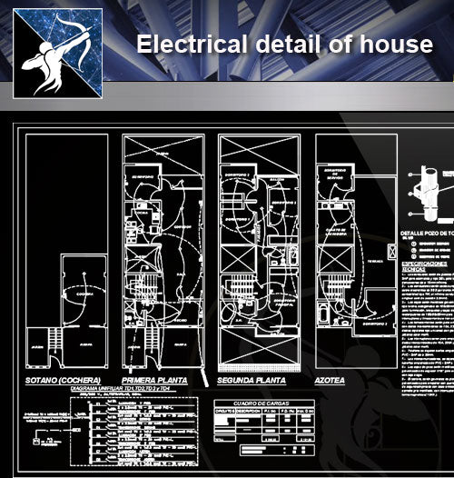 【Electrical Details】Electrical detail of house