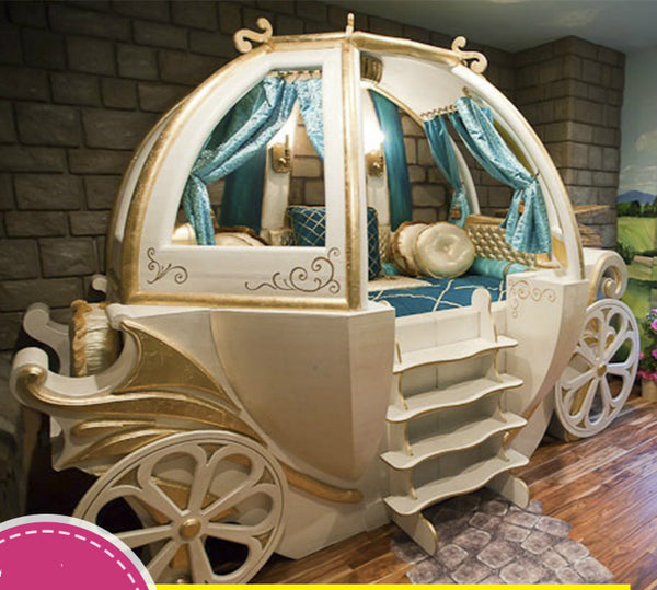 Happy Baby Custom Solid Wood Boys And Girls Bed Theme Hotel Features American Carriage Bed Children's Furniture - Architecture Autocad Blocks,CAD Details,CAD Drawings,3D Models,PSD,Vector,Sketchup Download