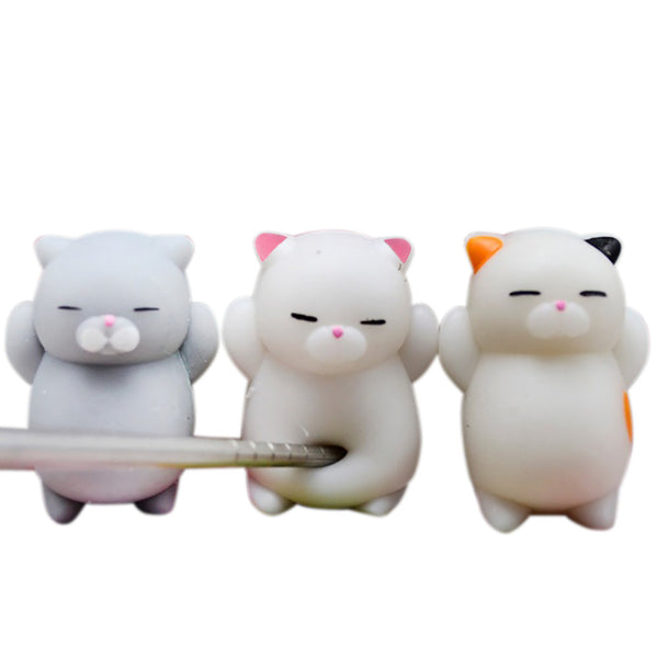 3pcs Cute Mochi Squishy Cat Squeeze Healing Fun Kids Kawaii Toy Stress Reliever - Architecture Autocad Blocks,CAD Details,CAD Drawings,3D Models,PSD,Vector,Sketchup Download