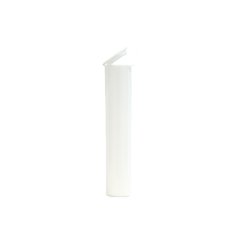 90 mm Pre-Roll Tubes Child Resistant White - 600 units - weed packaging and beyond