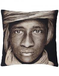 Tuareg Boy Mali cushion