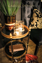 Versace Gold Side Table