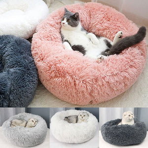 Marshmallow Cat Bed - Soft, Fluffy and Comfy - Cats On Catnip