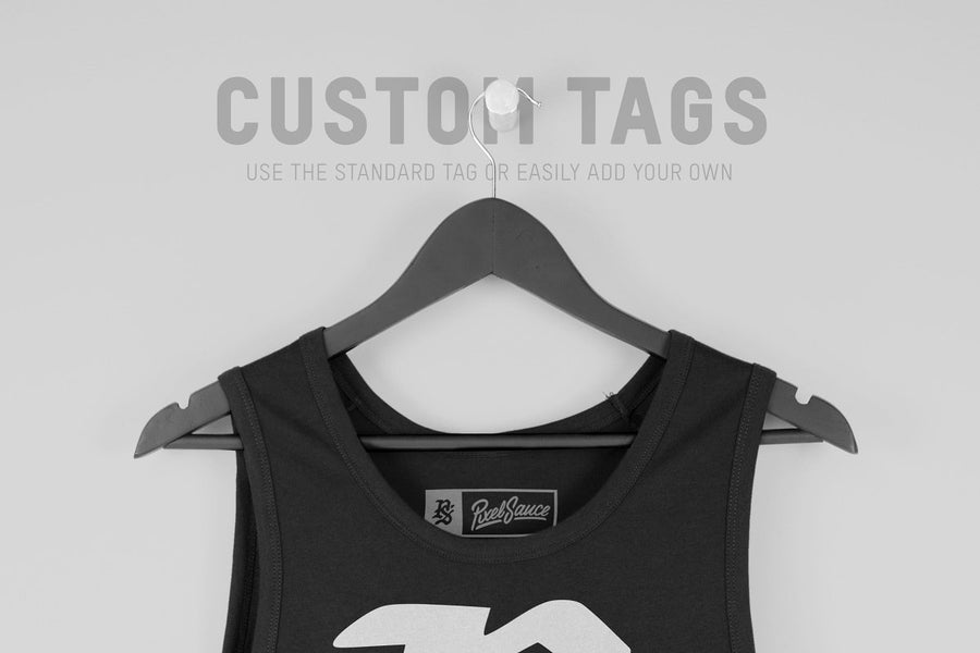 Hanging Men's Tank Top Mockups