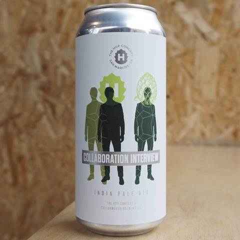 ** REDUCED TO CLEAR ** The Hop Concept/Cellarmaker - Collaboration Interview - 7.5% (473ml)
