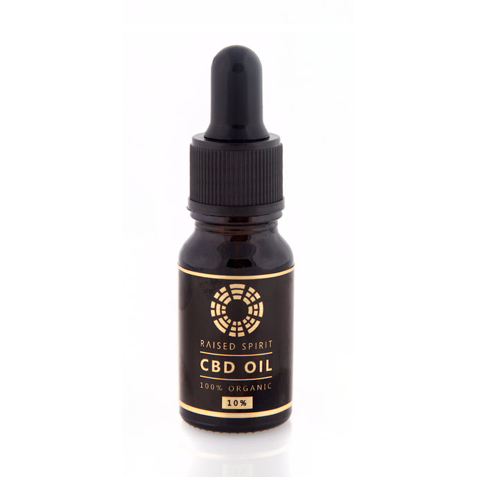 Organic CBD Oil Drops 10%