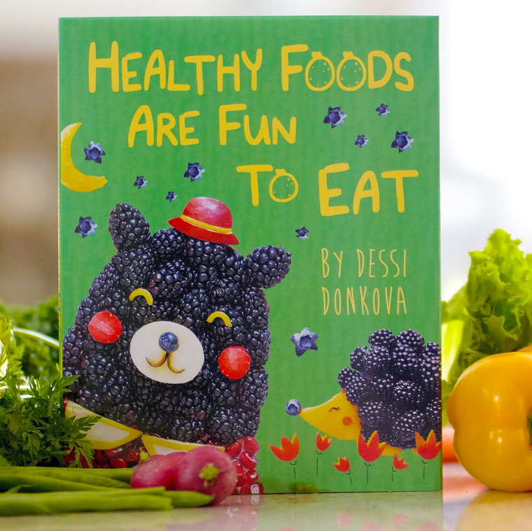 Healthy Foods are Fun to Eat Children's Picture Book