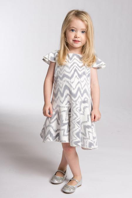 kenzie Flounce-DRESS-Sizes 4-16-Zoë Ltd