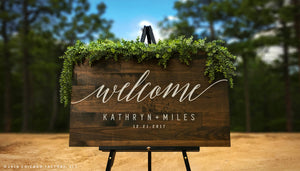 Custom Welcome to Our Wedding Sign (GP1167)