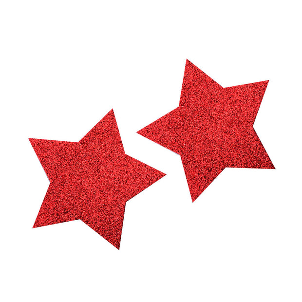 Red Glitter Star Nipple Covers & Pasties – Appeeling