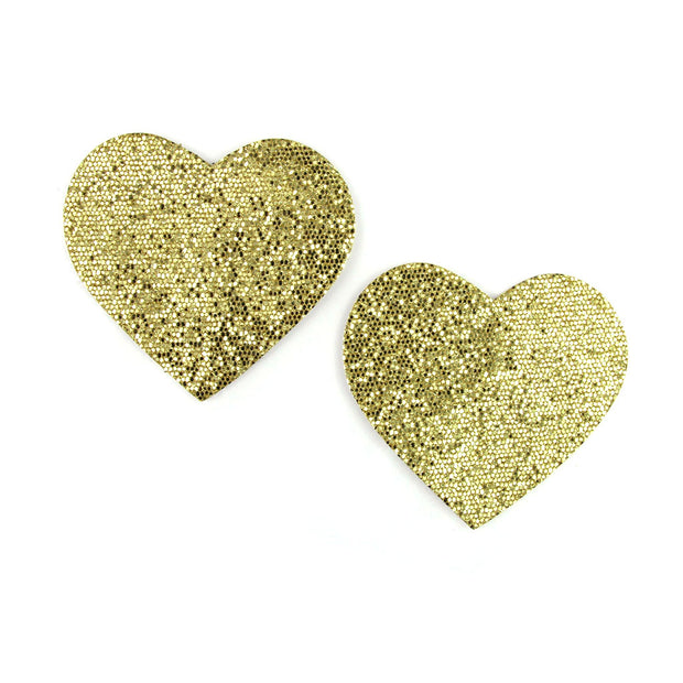 Gold Lolita Lust Heart Shape Pasties