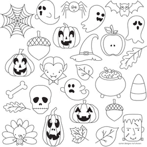 Halloween and Fall Pattern Sheets